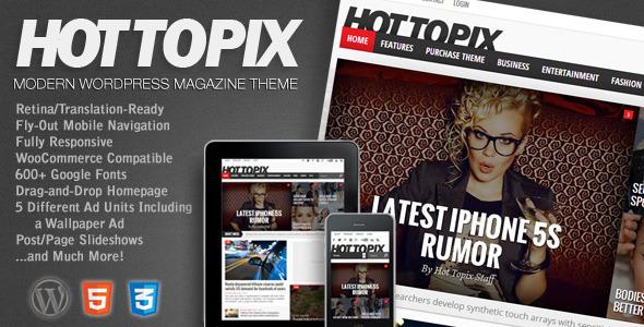 Tema WordPress Hot Topix