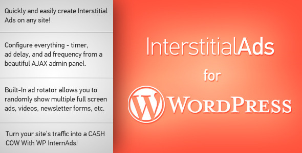 Plugin Intersitial Ads