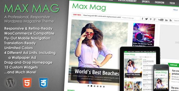 Tema WordPress Max Mag