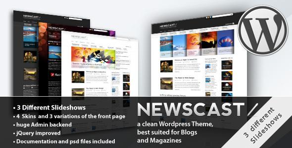 Tema WordPress Newscast