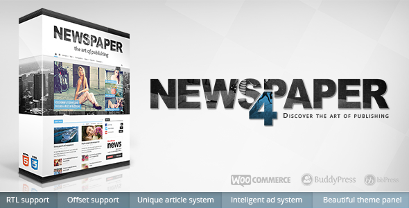 Tema WordPress Newspaper