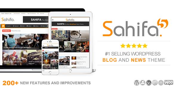 Tema WordPress Sahifa