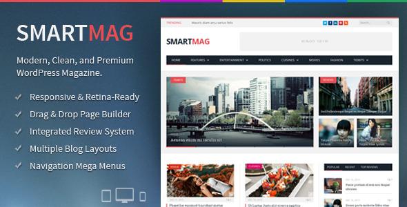 Tema WordPress SmartMag