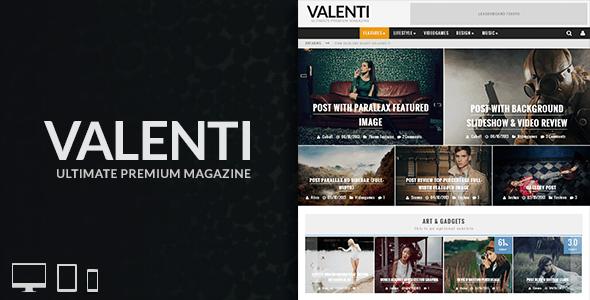 Tema WordPress Valenti