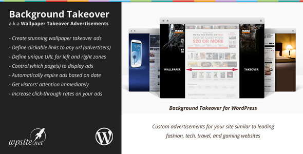 Plugin WP Background Takeover