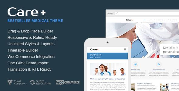 Tema WordPress Care