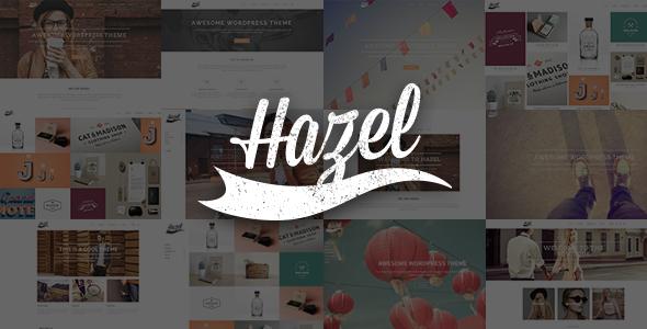 Tema WordPress Hazel