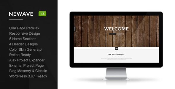 Tema WordPress Newave