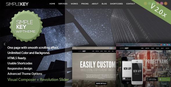 Tema WordPress SimpleKey