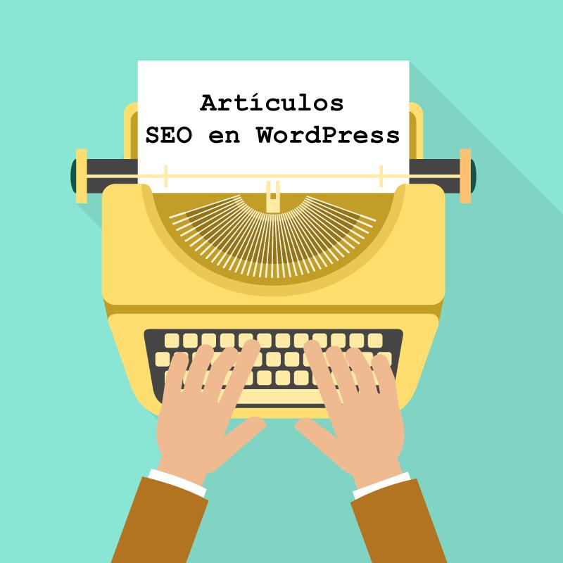 Artículos SEO en WordPress