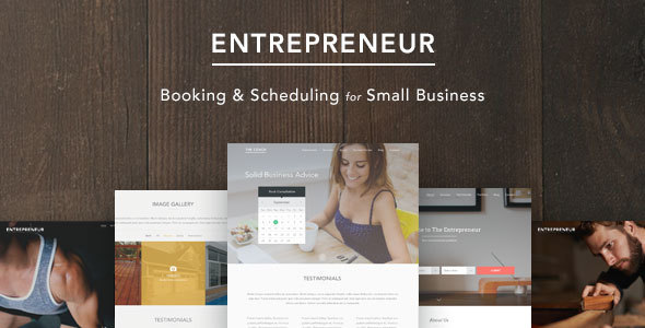 Tema WordPress Entrepreneur