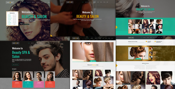Tema WordPress Hair Care