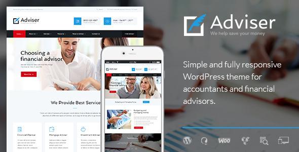 Tema WordPress Adviser