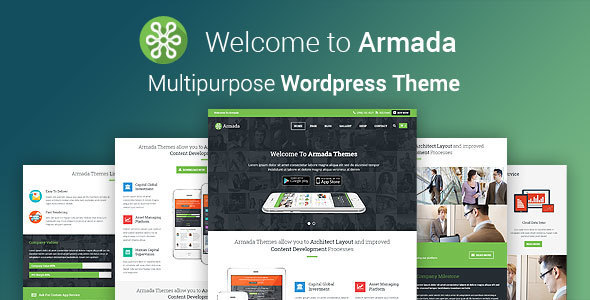 Tema WordPress Armada