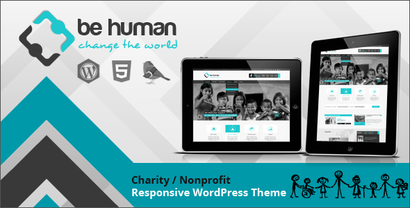 Tema WordPress Be Human