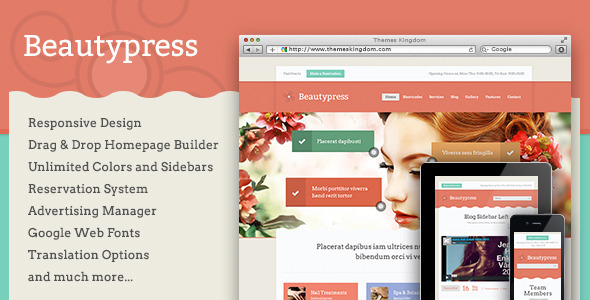 Tema WordPress Beautypress
