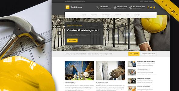Tema WordPress BuildPress