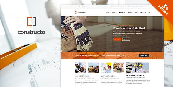 Tema WordPress Constructo