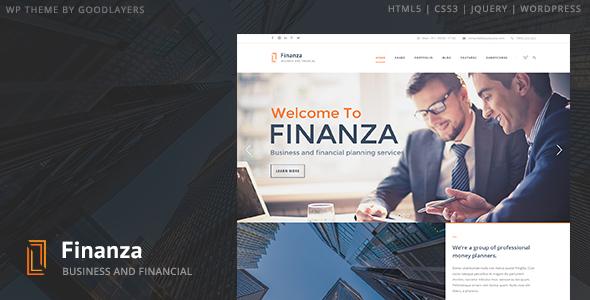Tema WordPress Finanza