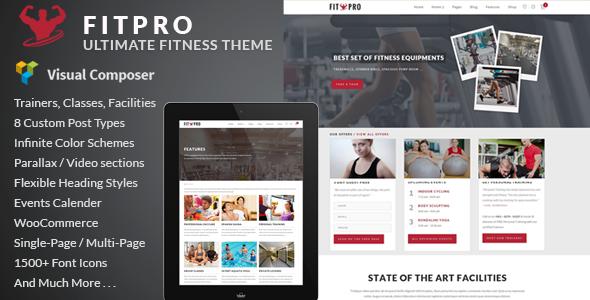 Tema WordPress Fitpro