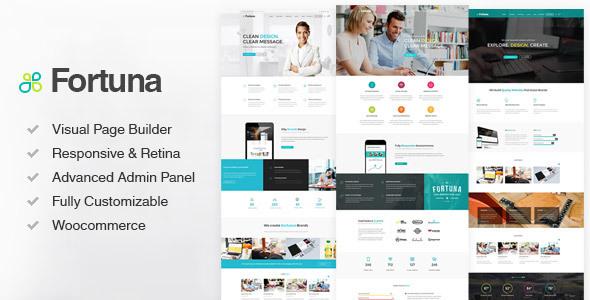 Tema WordPress Fortuna