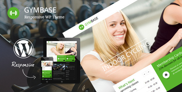 Tema WordPress GymBase