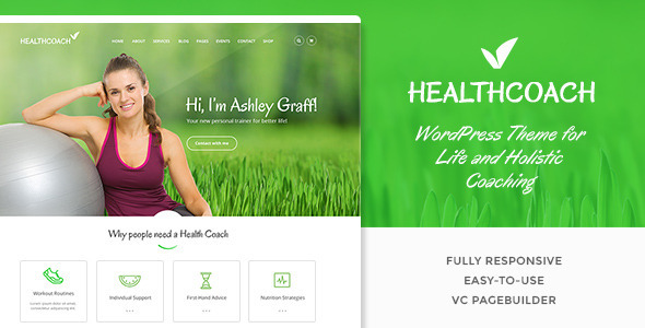 Tema WordPress Health Coach