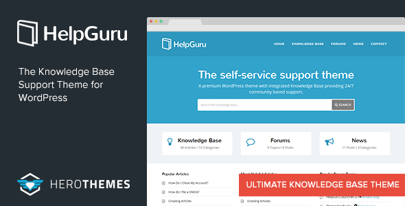 Tema WordPress HelpGuru