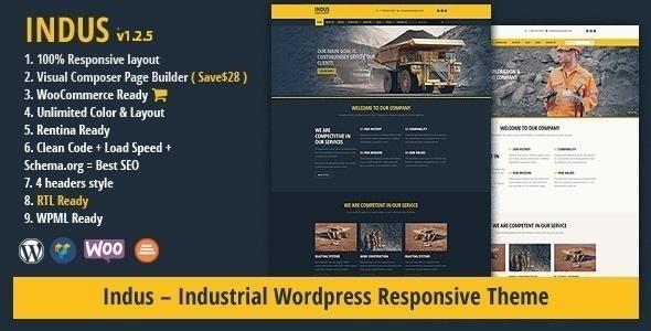 Tema WordPress INDUS