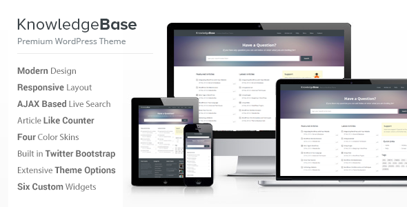 Tema WordPress KnowLedge Base