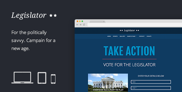 Tema WordPress Legislator