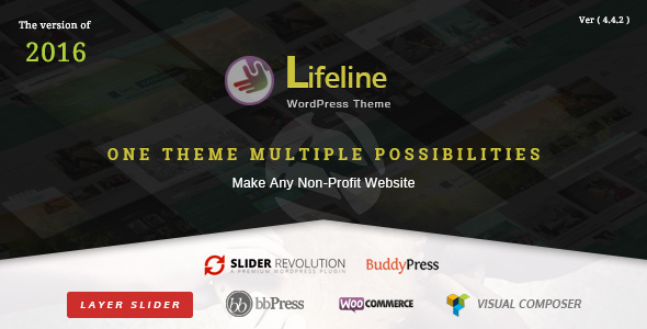 Tema WordPress Lifeline