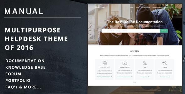 Tema WordPress Manual