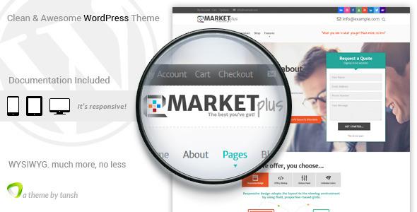 Tema WordPress MarketPlus