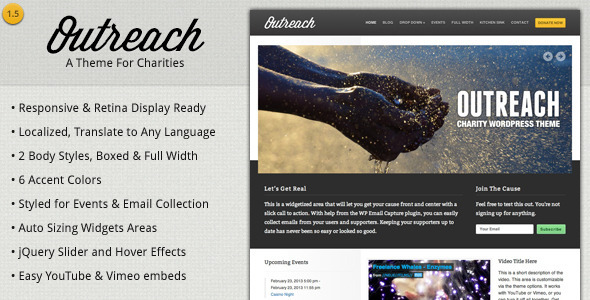 Tema WordPress Outreach