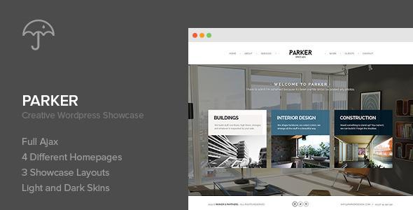 Tema WordPress Parker