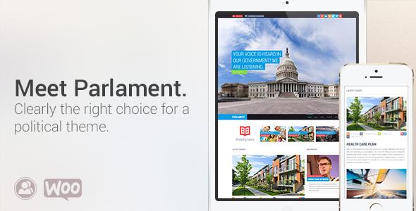 Tema WordPress Parlament