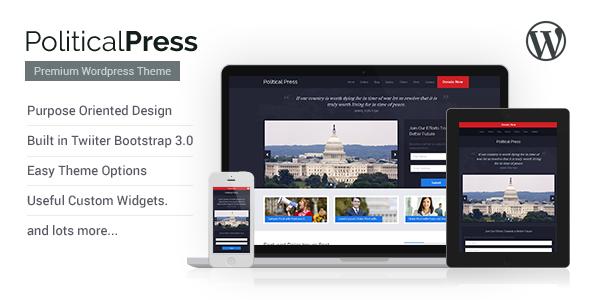 Tema WordPress Political Press