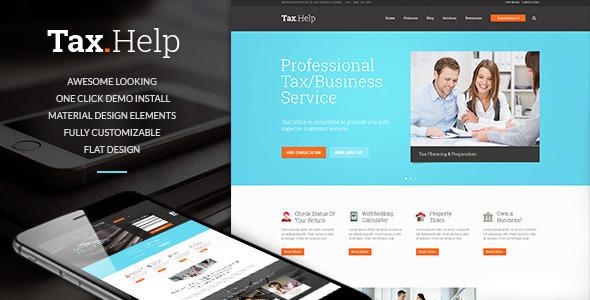 Tema WordPress Tax Help