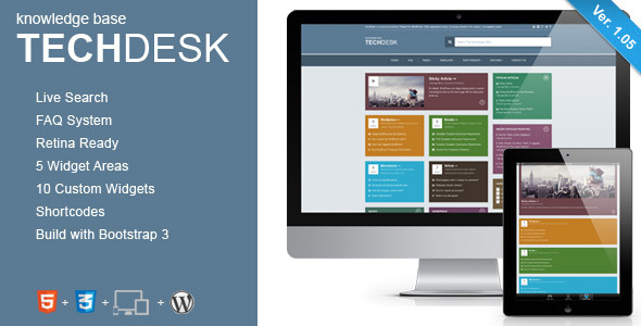 Tema WordPress TechDesk