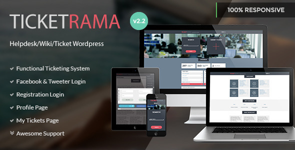 Tema WordPress TicketRama