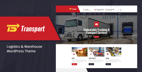 Tema WordPress Transport