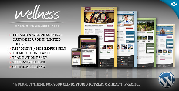 Tema WordPress Wellness