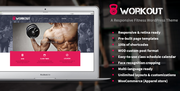 Tema WordPress Workout