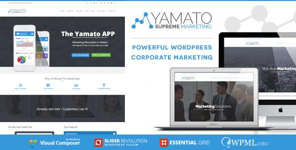 Tema WordPress Yamato