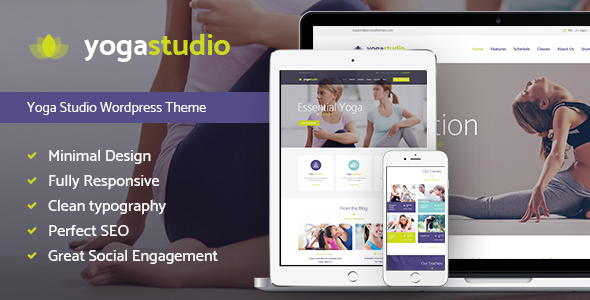 Tema WordPress Yogastudio