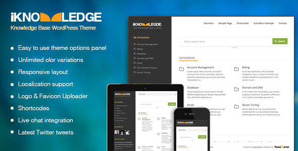 Tema WordPress iKnowLedge