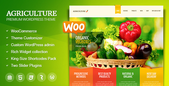 Tema WordPress Agriculture