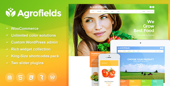 Tema WordPress Agrofields