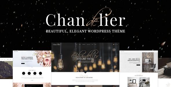 Tema WordPress Chandelier